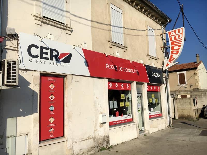 CER Jacky à Avignon